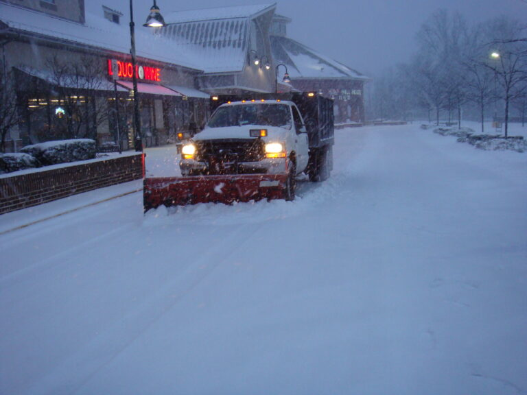 Kings View Start Snow Removal