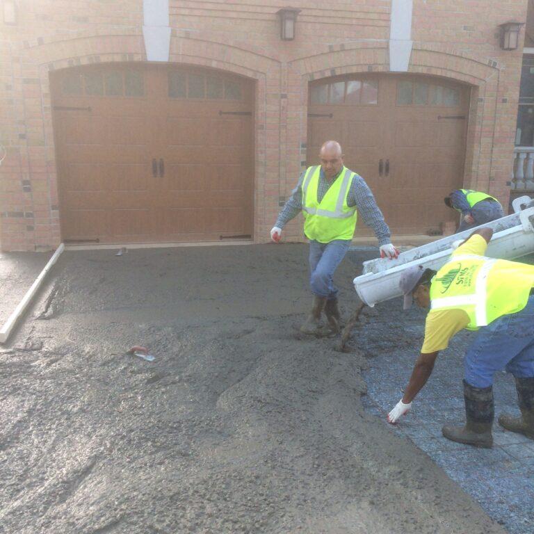 Pouring Concrete 2